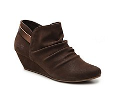 Blowfish Leaf Wedge Bootie