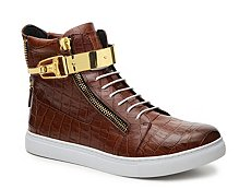 J75 by Jump Zeus Leather High-Top Sneaker
