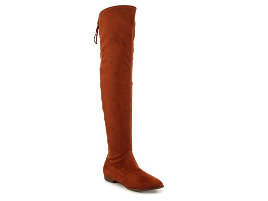 Restricted Bouncer Over The Knee Boot