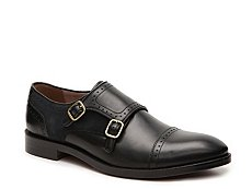 Aston Grey Parma Monk Strap Slip-On