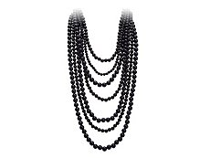 Bold Beaded Multi-Strand Necklace