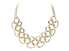 One Wink Ring Bib Necklace