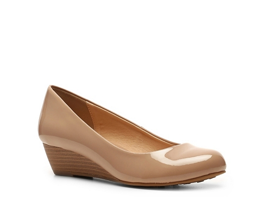 CL by Laundry Marcie Patent Wedge Pump