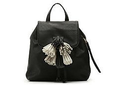 Violet Ray Tassel Backpack