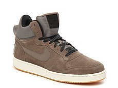 Nike Court Borough Suede High-Top Sneaker - Mens