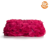 Lulu Townsend Tiered Ruffle Clutch