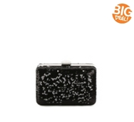 Lulu Townsend Sequin Box Clutch