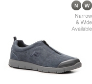 Propet Travel Walker Denim Slip-On Walking Shoe