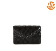 Lulu Townsend Metal Mesh Small Clutch