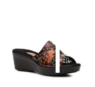 Dezario Punch Wedge Sandal