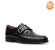 Mercanti Fiorentini Leather Monk Strap Slip-On