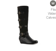 Crown Vintage Clover Wedge Boot