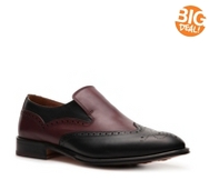 Mike Konos Two-Tone Wingtip Slip-On