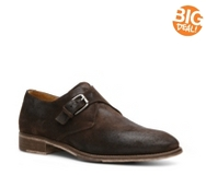Mike Konos Suede Monk Strap Slip-On
