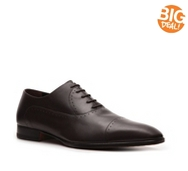 A. Testoni Basic Leather Cap Toe Oxford