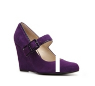 Bandolino Buckle Wedge Pump