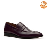 Mike Konos Leather Penny Loafer