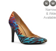 Nine West Gwendle Multicolor Printed Pump