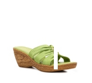 Italian Shoemakers Whimsy Wedge Sandal