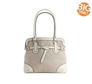 Kelly & Katie Lawrence Linen Satchel
