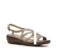 LifeStride Bypass Wedge Sandal