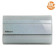 BCBGeneration Morgan Glitter Lucite Clutch