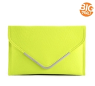BCBGeneration Nadia Snake Envelope Clutch