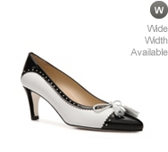 Rangoni by Amalfi Torta Leather Cap Toe Pump