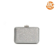 Lulu Townsend Glitter Box Clutch