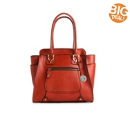 London Fog Knightsbridge Front Zip Tote