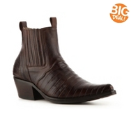 El Padrino Leather Pleated Boot