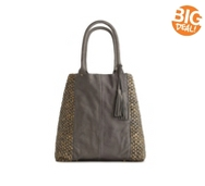 Flora Bella Casewell Leather Panel Shopper Tote