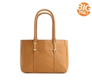 Isaac Mizrahi Leather Ingrid Tote