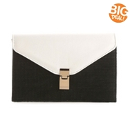 Urban Expressions Mariel Color Block Clutch