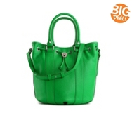 Bodhi Candy Drawstring Leather Satchel