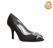 Nina Fiery Peep Toe Pump