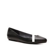 Dr. Scholls Really Leather Flat