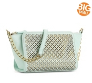 Jessica Simpson Judith Perforated Mini Cross Body Bag