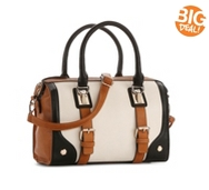 Melie Bianco Adair Color Block Satchel