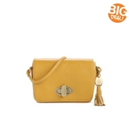 Crown Vintage Festival Leather Cross Body Bag