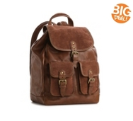 Crown Vintage Janice Leather Backpack