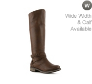 Bare Traps Sigourney Wide Calf Riding Boot