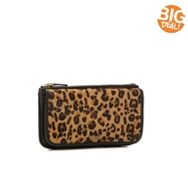 Fossil Leopard Memoir Leather Wallet