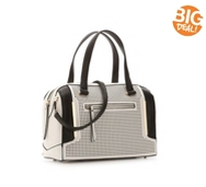 Melie Bianco Perforated Satchel