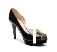Nine West Constance Patent Platform Pump
