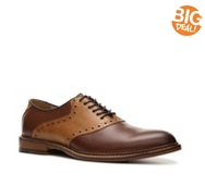 Aston Grey Banks Saddle Oxford