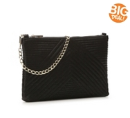 Crown Vintage Quilted Clutch