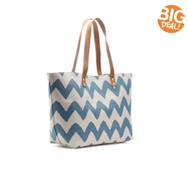 Kelly & Katie Chevron Beach Tote