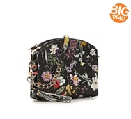 Kelly & Katie Floral Double Zip Crossbody Bag