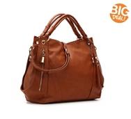 Crown Vintage Zipper Hobo Bag